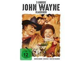 3 grosse John Wayne Klassiker 3 DVDs
