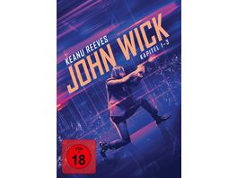 John Wick Kapitel 1 3 3 DVDs