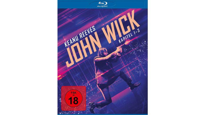 John Wick - Kapitel 1-3  [3 BRs]