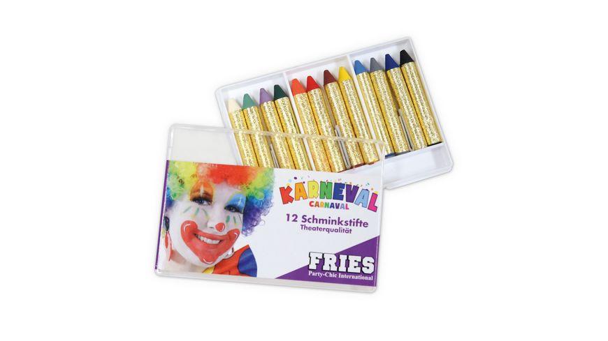 Fries - 12 SCHMINKSTIFTE