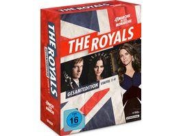 The Royals Staffel 1 4 Gesamtedition 12 DVDs