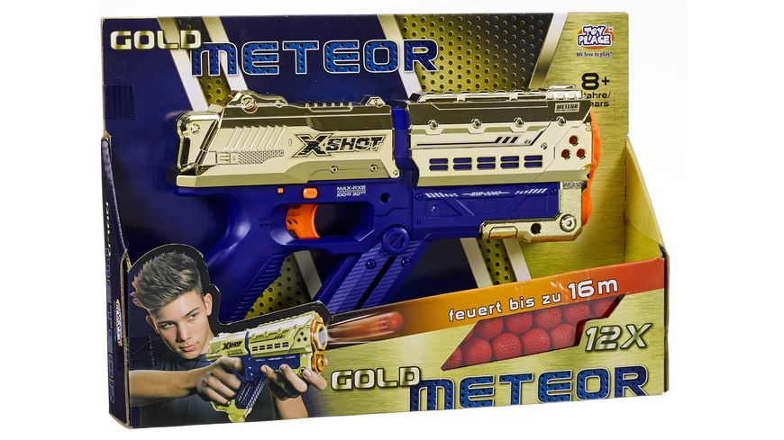 Müller - Toy Place - Ball Blaster Meteor Gold