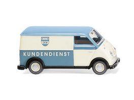 WIKING 033403 1 87 DKW Schnelllaster Kastenwagen DKW Kundendienst
