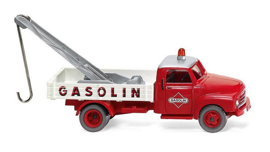 """WIKING 035202 -  1:87 Abschleppwagen (Opel Blitz) """"Gasolin"""""""