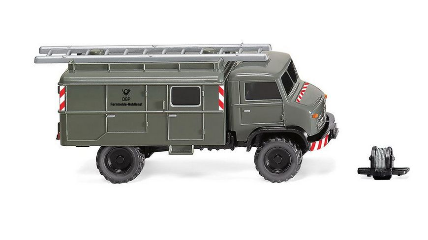 "WIKING 036002 -  1:87 Unimog S 404 ""Fernmeldedienst"""