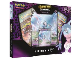Pokemon Sammelkartenspiel Silembrim V Box Weg des Champs