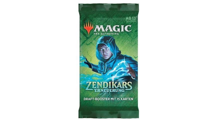 Magic the Gathering Zendikar Rising Draft Booster