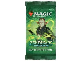 Magic the Gathering Zendikar Rising Draft Booster
