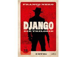 Django Die Trilogie 3 DVDs