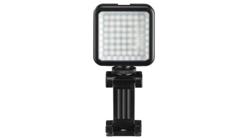 """Hama LED-Leuchte """"49 BD"""" für Smartphones, Foto- und Videokameras"""