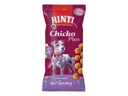 RINTI Hundesnack Chicko Plus Superfoods mit Ginseng