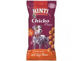 RINTI Hundesnack Chicko Plus Superfoods mit Goji Beere
