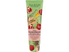 Jean Len Pflege Peeling Granatapfel