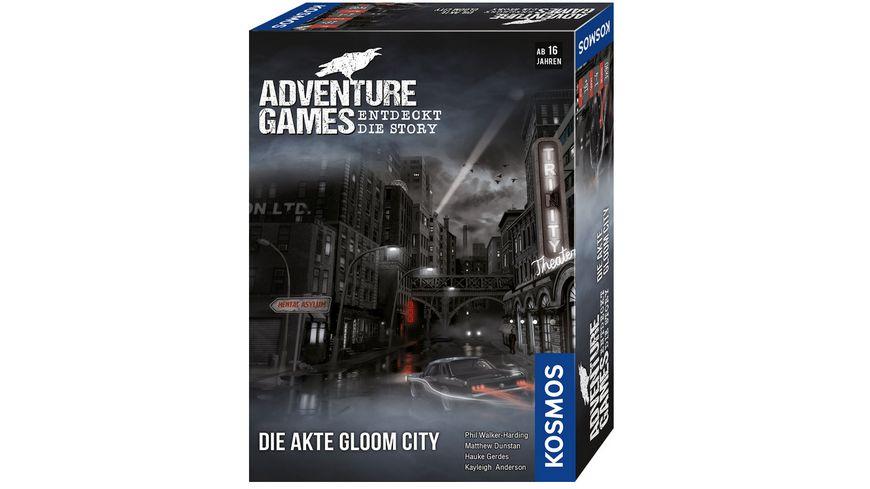 KOSMOS - Adventure Games - Die Akte Gloom City