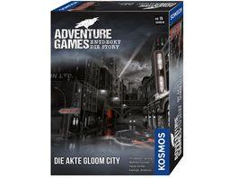 KOSMOS Adventure Games Die Akte Gloom City