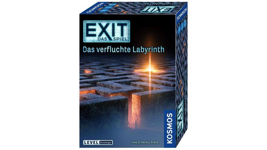 KOSMOS - EXIT - Das Spiel - Das verfluchte Labyrinth