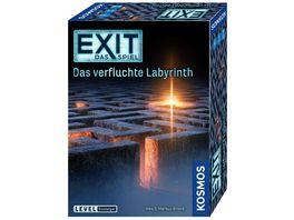 KOSMOS EXIT Das Spiel Das verfluchte Labyrinth