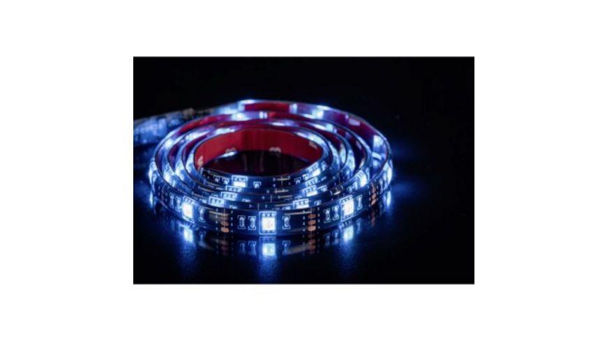 Hama USB LED Leuchtband mit integrierter Bedieneinheit RGB 1m