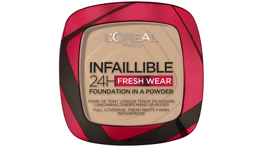 L'ORÉAL PARIS Infaillible 24H Fresh Wear Make-Up-Puder