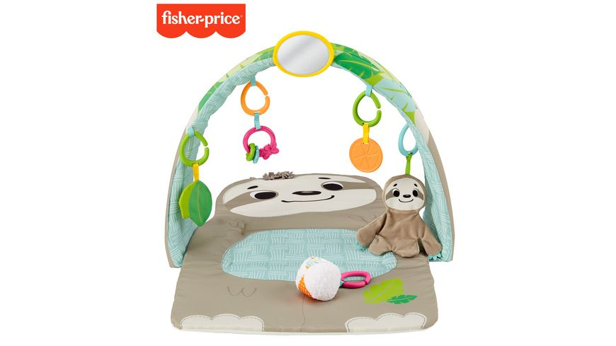 Fisher Price Faultier Spieldecke