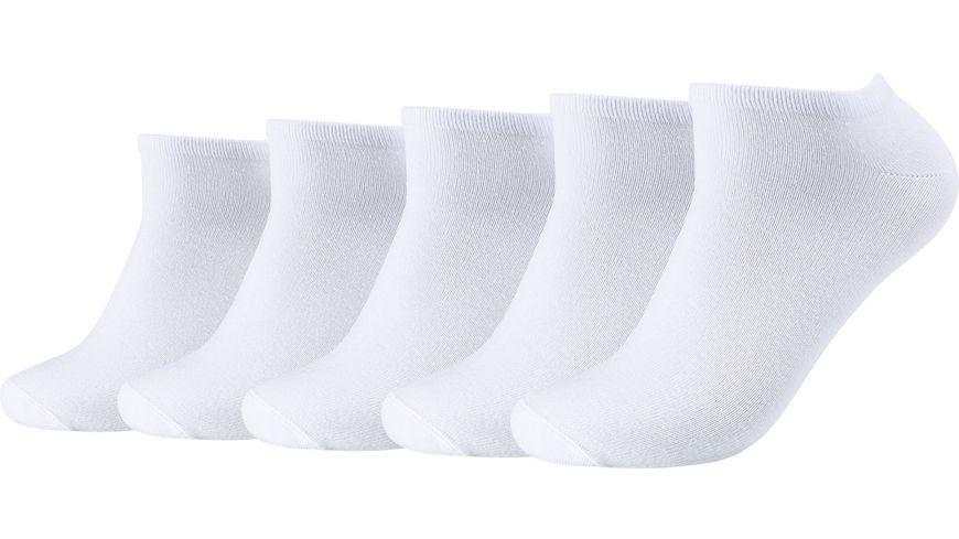 s.Oliver Unisex Sneaker Socken essentials 5er Pack