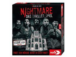 Noris Spiele Nightmare Das Horror Abenteuer