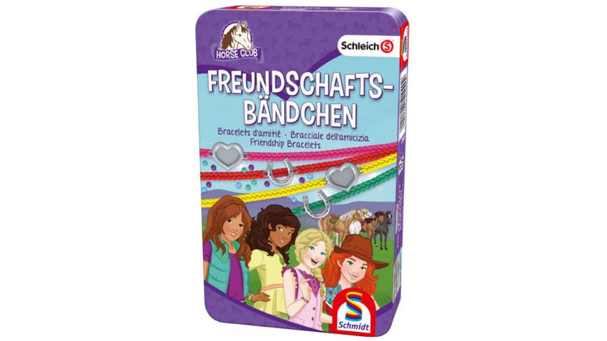 Schmidt Spiele Horse Club Freundschaftsbaendchen
