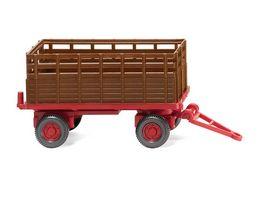 WIKING 038404 1 87 Landwirtschaftlicher Anhaenger rehbraun
