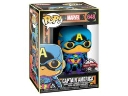 Funko POP Marvel Captain America Special Edition Bobble Head Figur