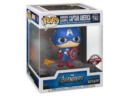Funko POP Marvel Avengers Assemble Captain America Bobble Head Figur