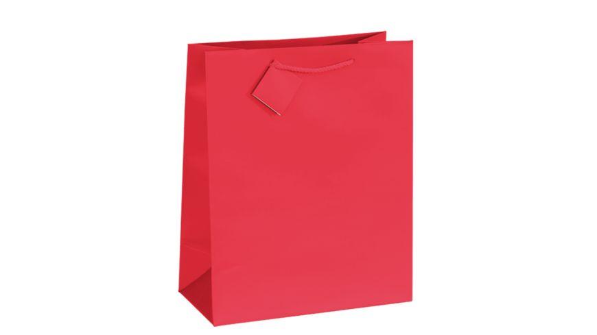 TRUBA Geschenktasche maxi uni rot