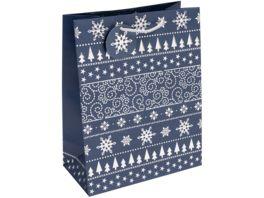 TRUBA Geschenktasche maxi Platinum blue