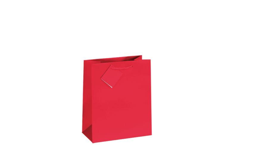 TRUBA Geschenktasche midi uni rot