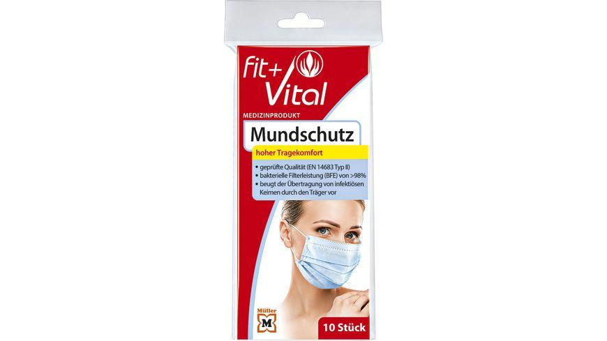 Fit + Vital Mundschutz zum einmaligen Gebrauch