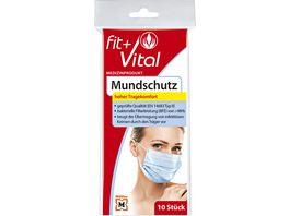 Fit Vital Mundschutz zum einmaligen Gebrauch