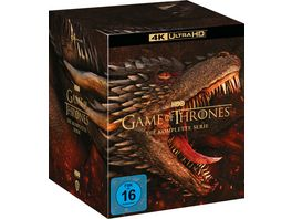 Game Of Thrones TV Box Set 4K Ultra HD 33 BR4K