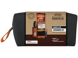L OREAL PARIS MEN EXPERT Barber Club Grooming Kit mit Bartoel und Duschgel Gratis Washbag