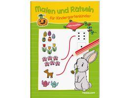 Malen und Raetseln fuer Kindergartenkinder Jahreszeiten Suchen Zaehlen Zuordnen Verbinden fuer Kinder ab 3 Jahren