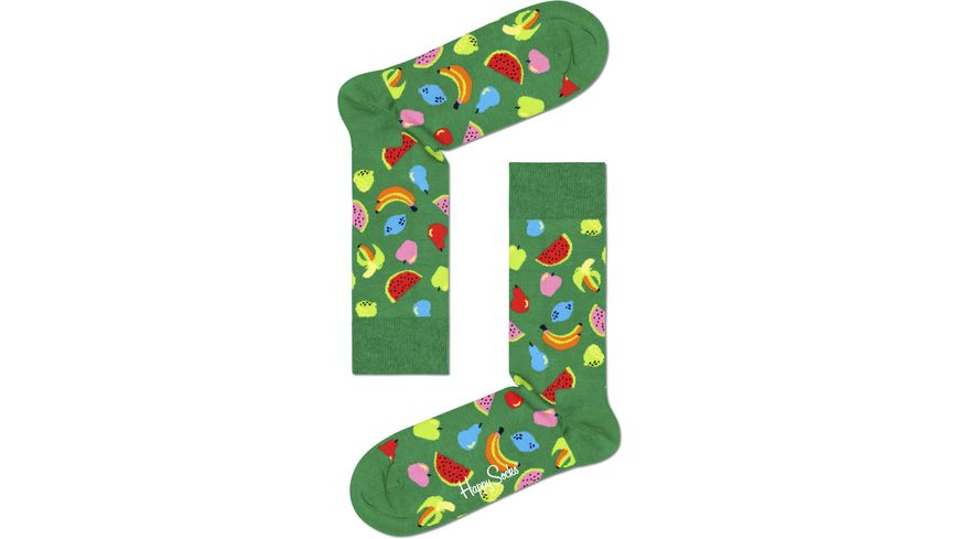 Happy Socks Unisex Socken Fruit