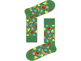 Happy Socks Unisex Socken Fruit