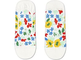 Happy Socks Unisex Fuesslinge Flower Liner