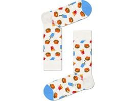 Happy Socks Unisex Socken Burger