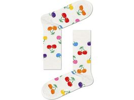 Happy Socks Unisex Socken Cherry