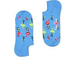 Happy Socks Unisex Fuesslinge Flamingo No Show