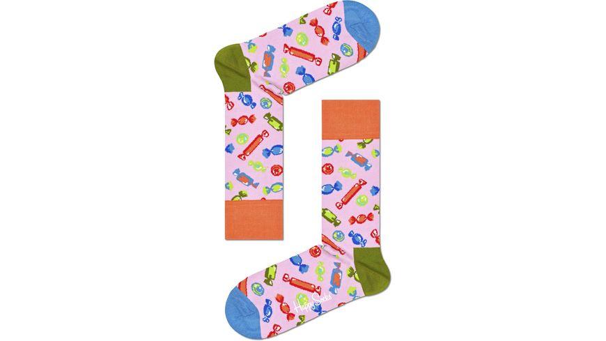 Happy Socks Unisex Socken Candy