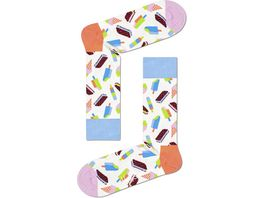 Happy Socks Unisex Socken Icecream