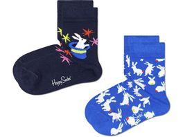 Happy Socks Kinder Socken Kids Magic 2er Pack