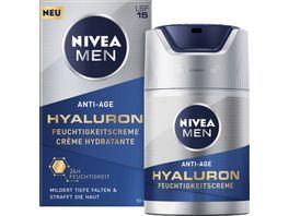 NIVEA MEN Anti Age Hyaluron Feuchtigkeitscreme