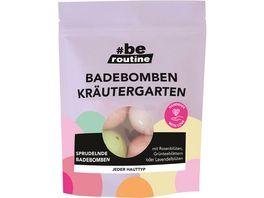 be routineBadebomben Kraeutergarten