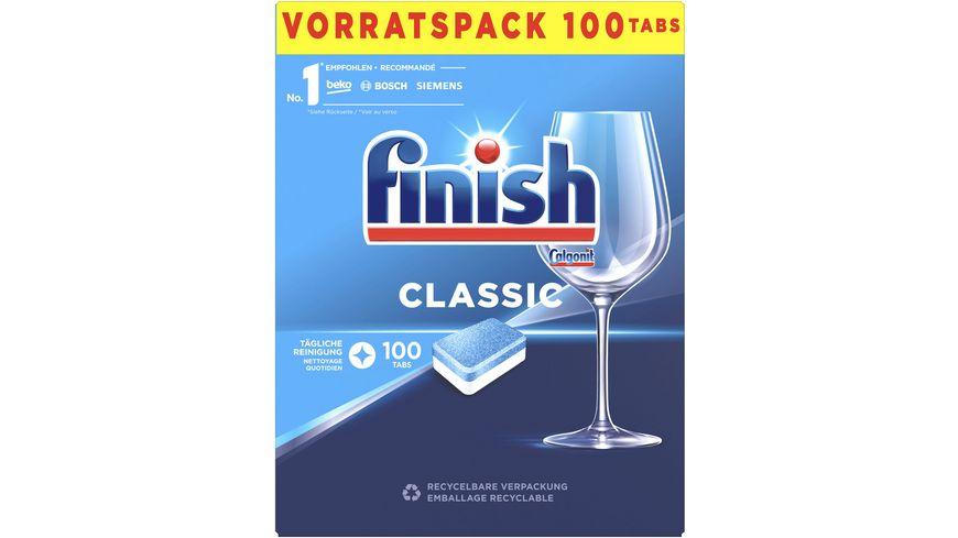 Finish Classic Spülmaschinentabs Vorratspack